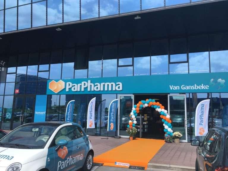 Parpharma Gent - winkeldiefstalbeveiliging - Resatec